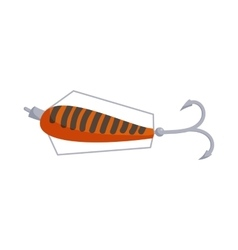 Fishing lure icon cartoon style vector image vector image