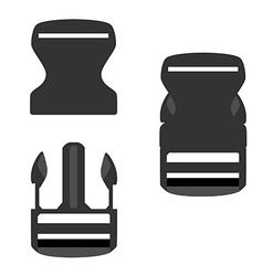 Backpack buckle vector