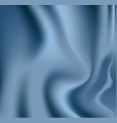Blue textile drapery background with copyspace or vector