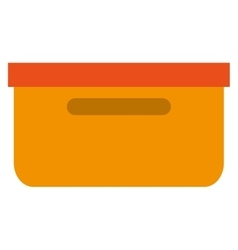 Folder container file icon vector
