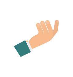 Hand gesture sign vector