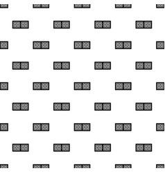 scoreboard pattern vector image