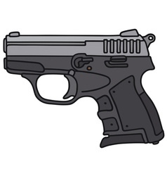 Small handgun vector