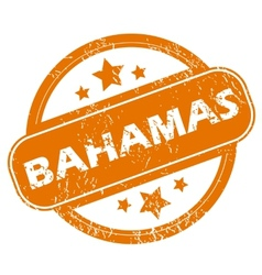 Bahamas grunge icon vector