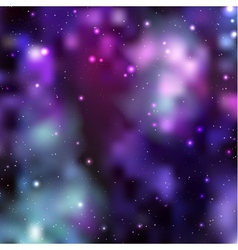 Galaxy background Abstract vector image