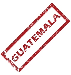New guatemala rubber stamp vector