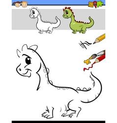 Drawing task for preschool kids vector