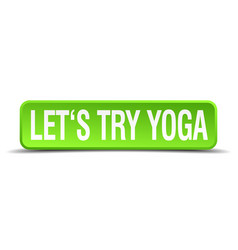 Lets try yoga vector