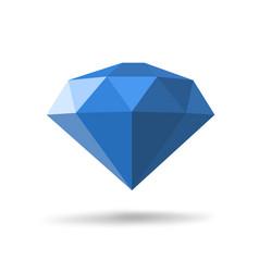 Modern diamond icon vector