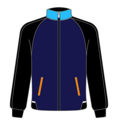 Polo sport jacket mock up realistic vector