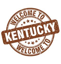 Welcome to kentucky vector