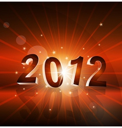 New years background with the numbers 2012 vector