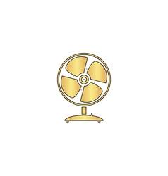 Fan computer symbol vector image