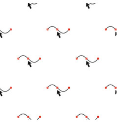 Line and arrow pattern seamless vector