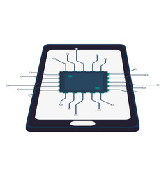 Smartphone circuit technology device vector