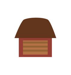 Farm organic food emblem image vector