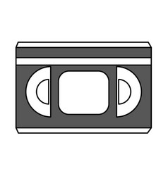 Movie tape design vector