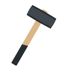 Sledgehammer icon isolated vector