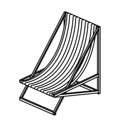 Isolated and silhouette suns chair design vector