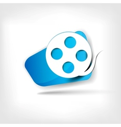 Video web icon vector