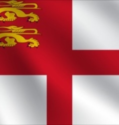 Sark flag vector
