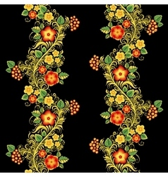 Traditional Russian seamless pattern in vector image