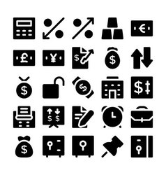 Finance and money icons 5 vector