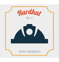 hardhat icon design vector image