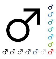 mars male symbol icon vector image