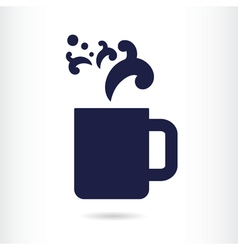 Office coffee cup vector