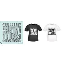 T-shirt print vintage design vector