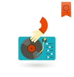 Music dj party vector
