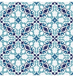 Moasic tiled oriental vector image vector image