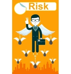 Take A Risk vector image