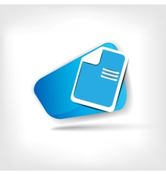 File web icon vector