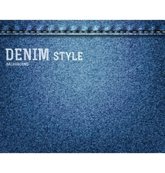 Denim jeans texture vector