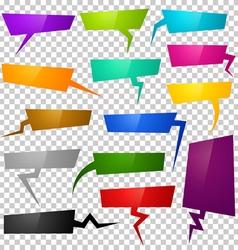 bubbles color vector image
