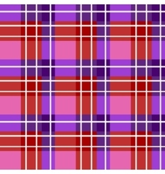 Bright plaid fabric vector
