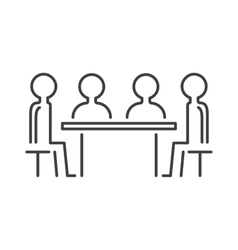 Business partner people icon symbol success team vector