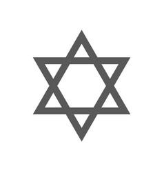 david star icon simple vector image