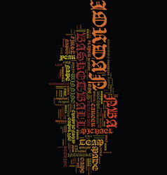 Michael jordan a short bio text background word vector