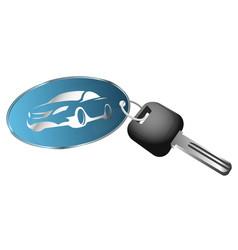 rent a car symbol vector image