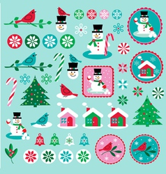 Chrismtas clipart vector image