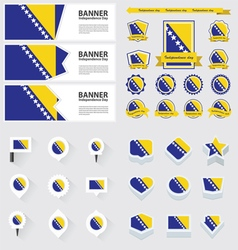 Set bosnia and herzegovina vector