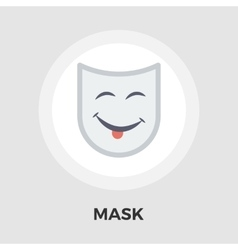 Mask flat icon vector