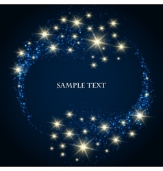 Festive Star Background vector image vector image