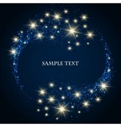 Festive Star Background vector image