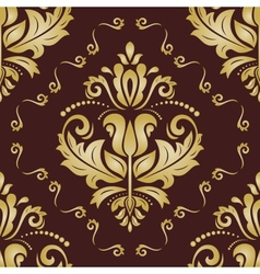 Floral pattern orient abstract background vector