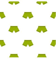 Green man boxer briefs pattern seamless vector
