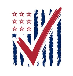 Presidential election usa sign vector